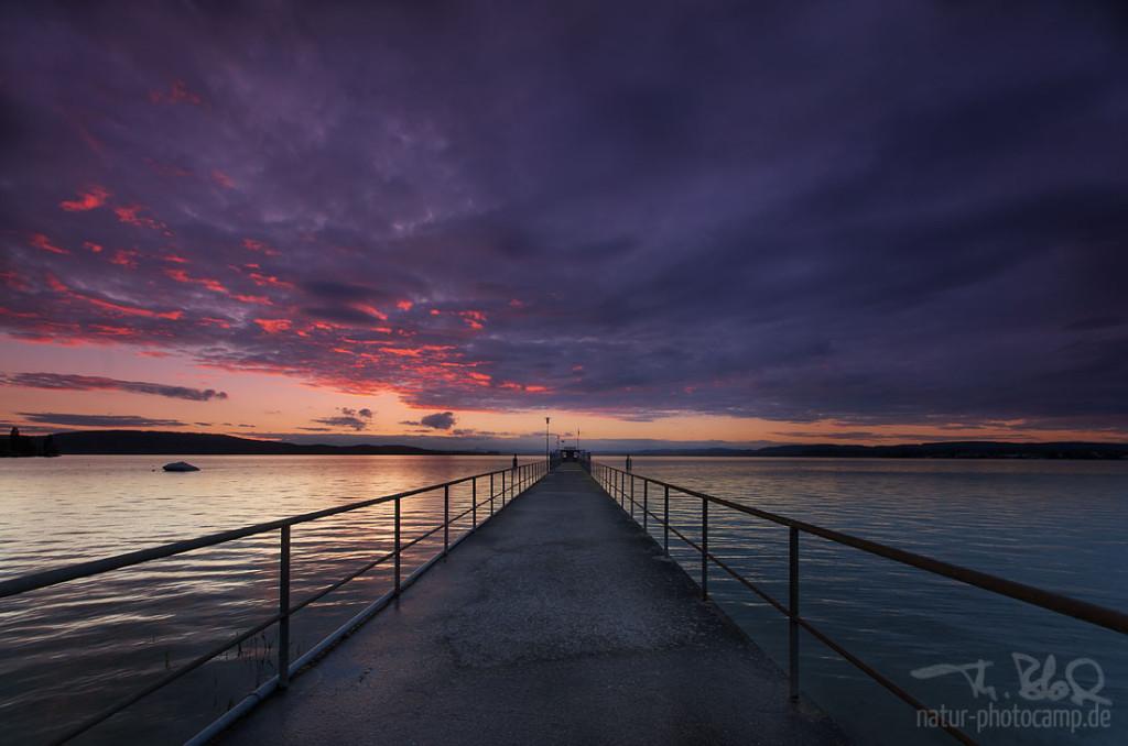 Sunset Mannenbach (CH)