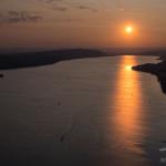 Sonnenuntergang über dem Überlinger See