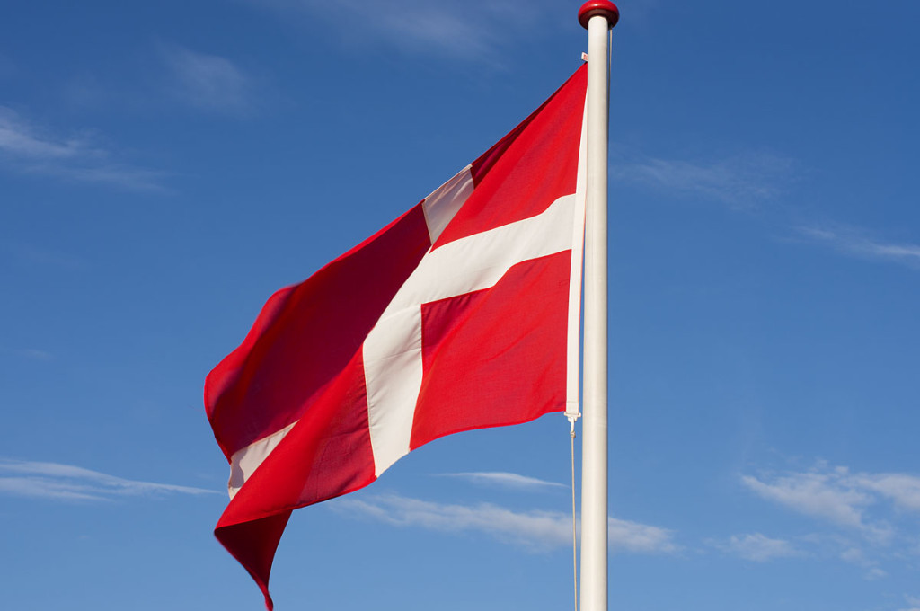 Dänische Flagge