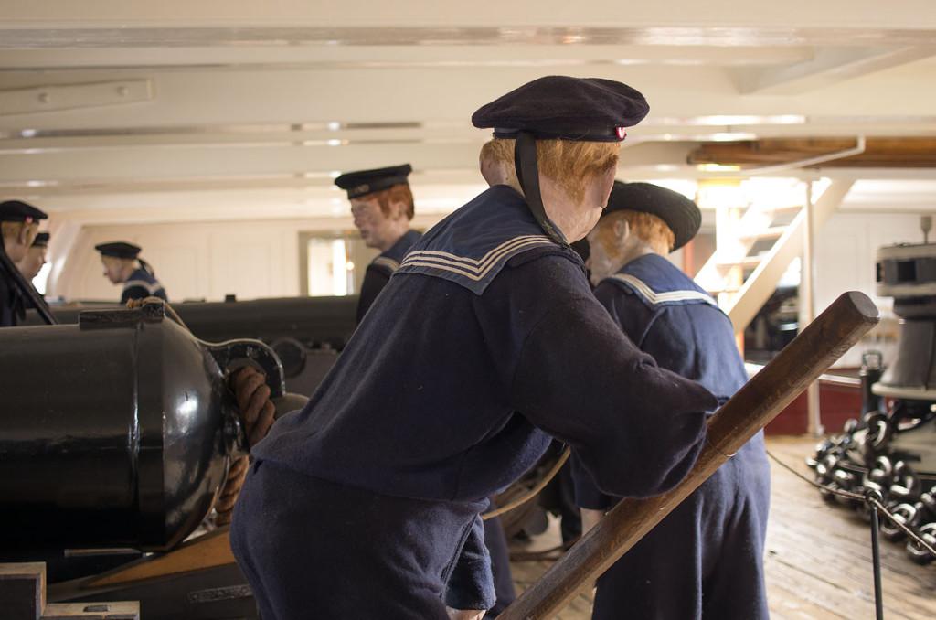 Auf der Fregatte Jylland