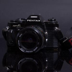Pentax Super A - Meine erste Kleinbild-Spiegelreflexkamera