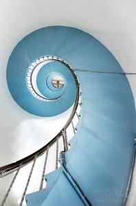 Spirale  - Wendeltreppe Lyngvig Fyr