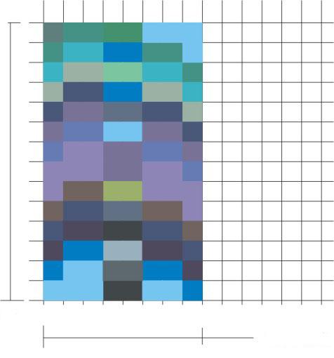 Pixel - wenn man sie als solches wahrnehmen würde....
