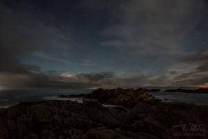 Brandung Laukvig Lighthouse