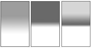 Verschiedene Verlaufsfilter: Soft Edge, Hard Edge und Reverse Grad