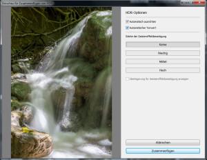 In Lightroom 6 kann man jetzt Belichtungsreihen zu einem HDR zusammenfügen