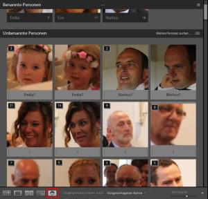 Lightroom hat nun die Personen- oder Gesichtererkennung wie Adobe PS Elements