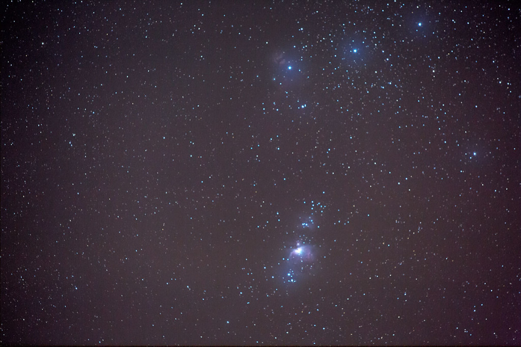 Orion mit 200mm (Crop)