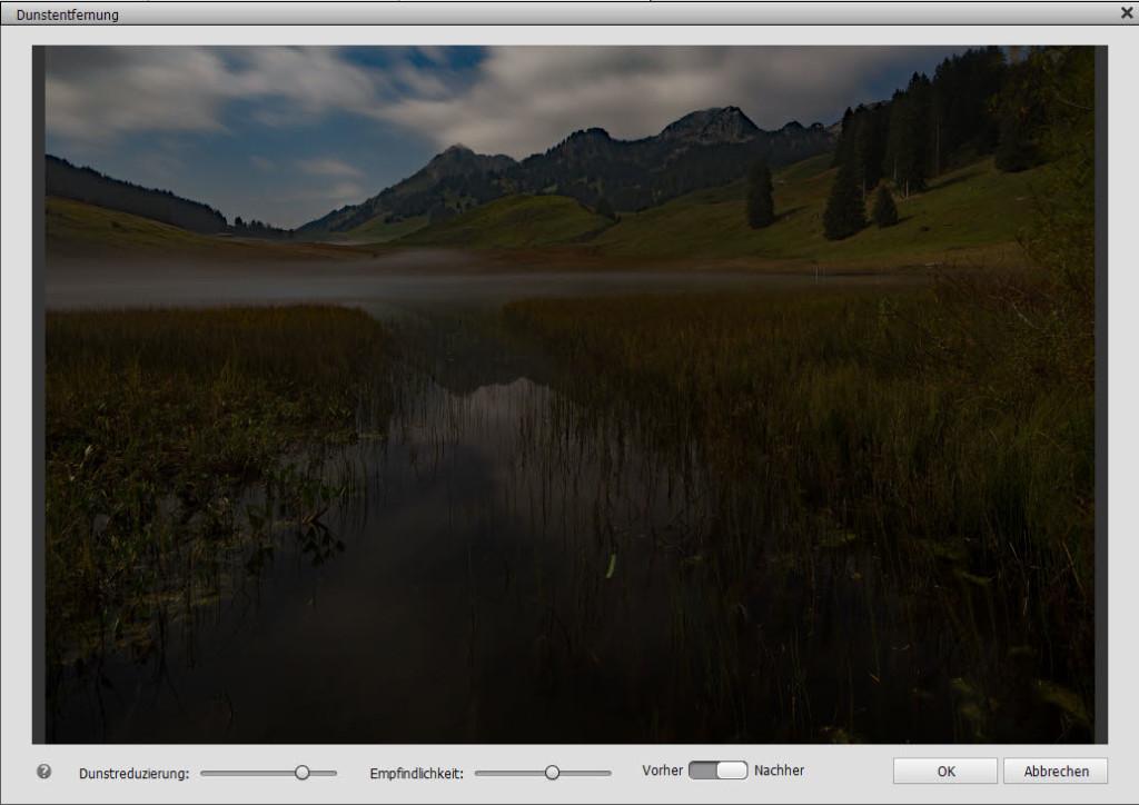 Photoshop Elements Dunstentfernung