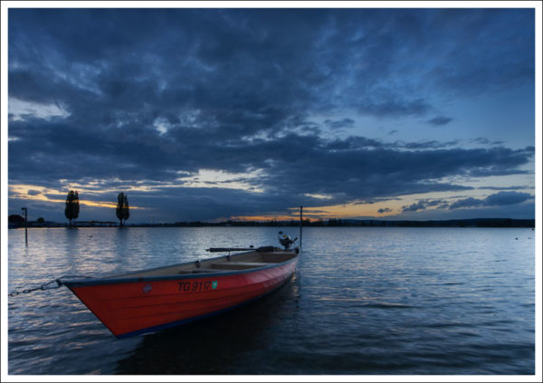 Das rote Boot