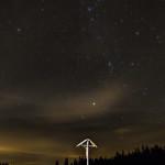 Landschaft Sternenhimmel