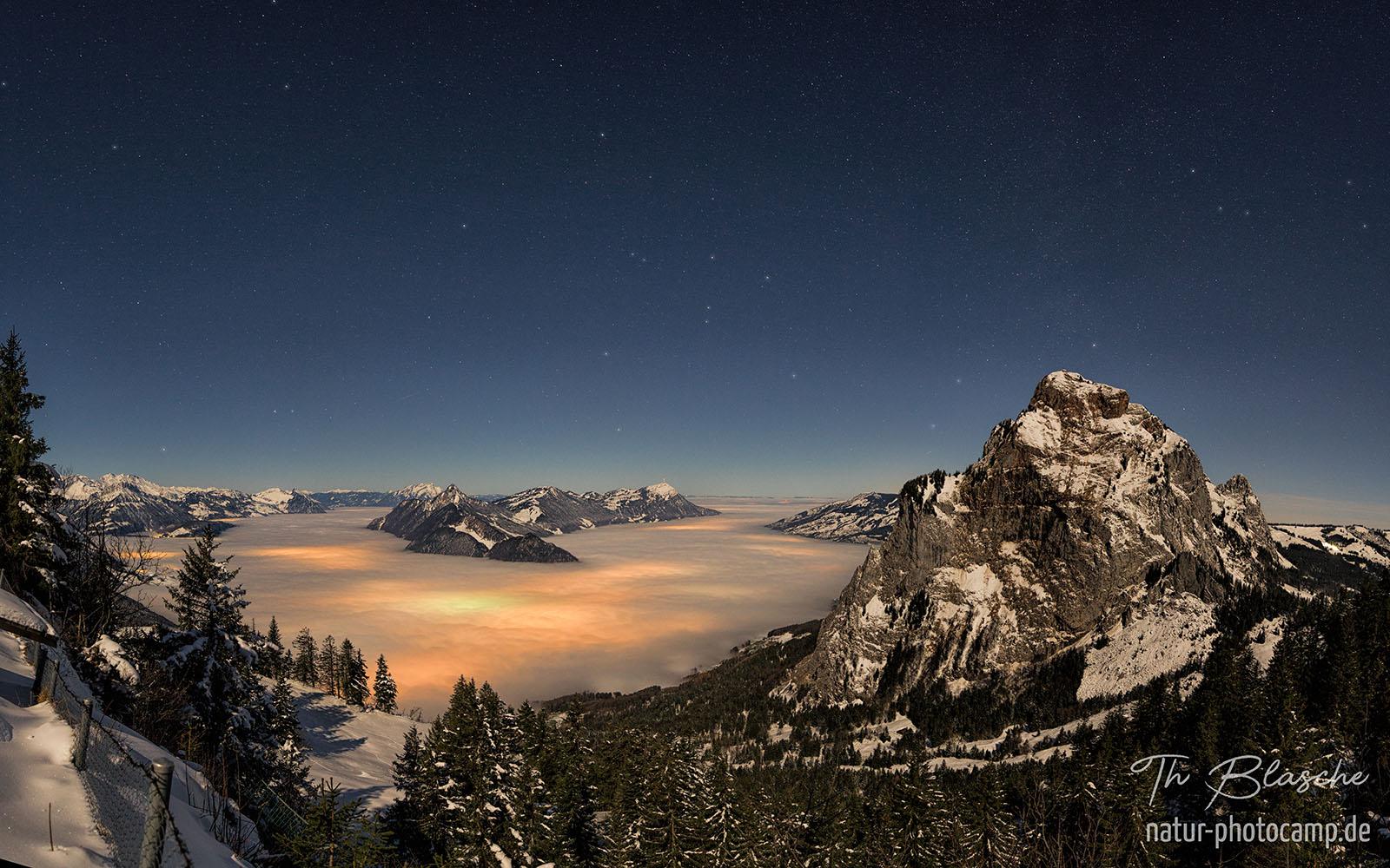alleine über die alpen