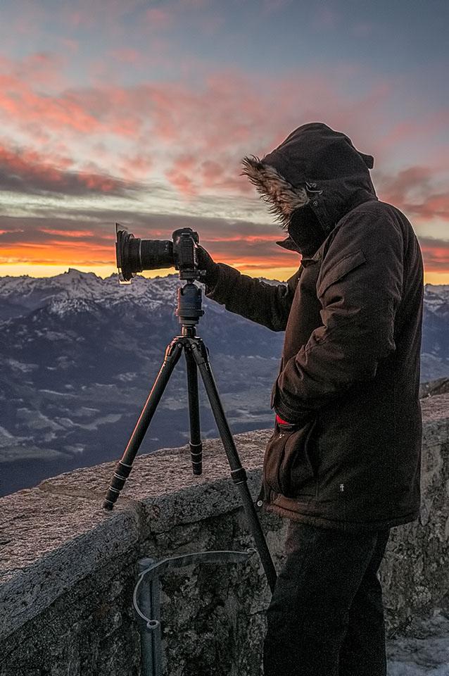 Fotografieren bei Kälte